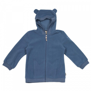 Bilde av Alaska Fleece Hoodie i Moonlight Blue fra MeMini