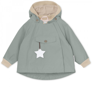 Bilde av Wai jakke fleece Chinois Green fra Mini A Ture