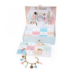 Bilde av Adventskalender Meri Meri  'The Nutcracker' Charm Bracelet