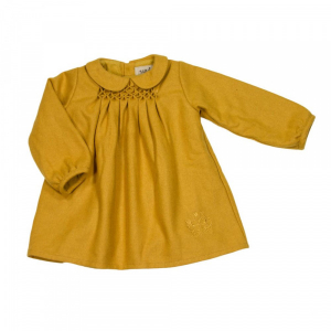 Bilde av Mary dress i honey gold fra MeMini