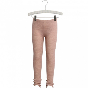 Bilde av Wool leggings i lace fawn melange fra Wheat