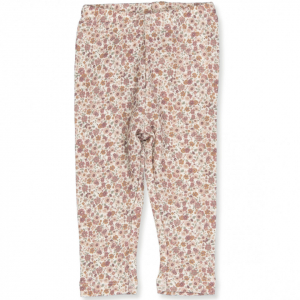 Bilde av Wool leggings til baby i flowers fra Wheat
