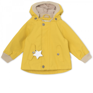 Bilde av Wally jakke fleece Bamboo Yellow fra Mini A Ture