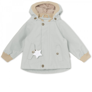 Bilde av Wally jakke fleece Puritan Grey fra Mini A Ture