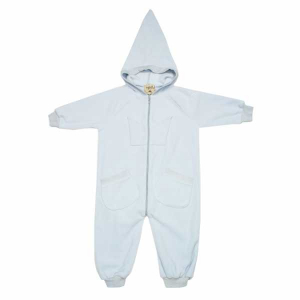 Bilde av Bunny fleece overall faded blue fra MeMini