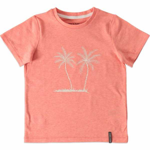 Bilde av Gutt t-shirt Palmtree str 86-140 i strawberry ice fra Mini