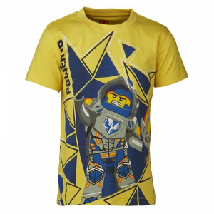 Bilde av Nexo Knights t-shirt yellow- power up fra Lego