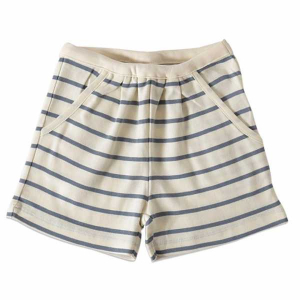 Bilde av Jente shorts i chalk og dustyblue fra Wheat