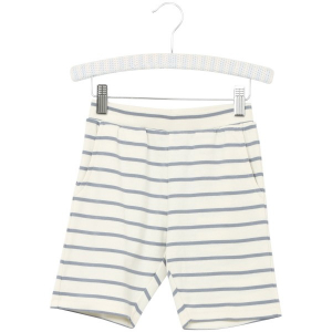 Bilde av Gutt dustyblue stripet shorts fra Wheat