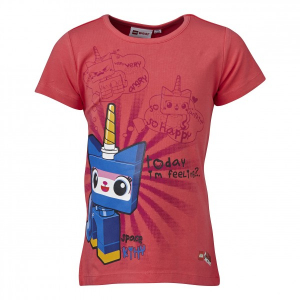 Bilde av Lego Movie Theodora 433 T-shirt ss bright pink fra Lego