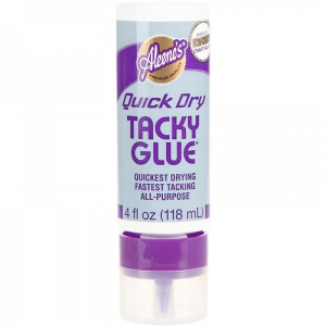 Quick dry tacky glue