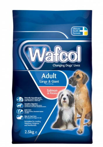 Wafcol Sensitiv Laks & Potet, Adult Large/Giant