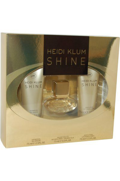 Bilde av Heidi Klum Shine EDT Spray 15ml + Lotion 75ml + Shower gel 75ml