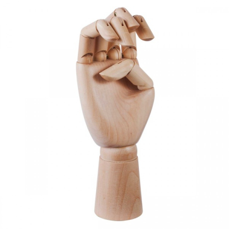 Wooden hand Large HAY