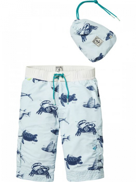 All-over printed board shorts fra Scotch Shrunk