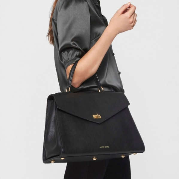 Anine Bing Mayfair Handbag Black