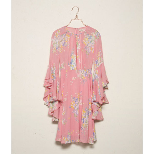 byTimo Wildflower Dress Pink