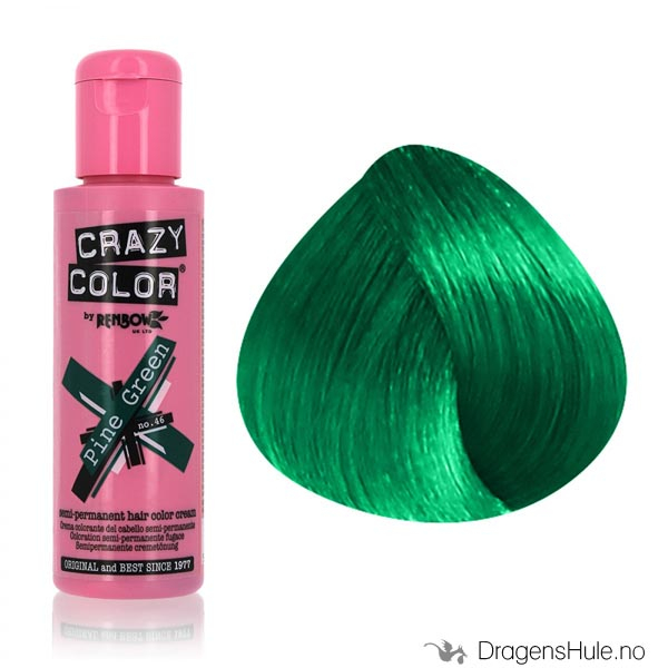 Hårfarge: Pine Green -Crazy Color
