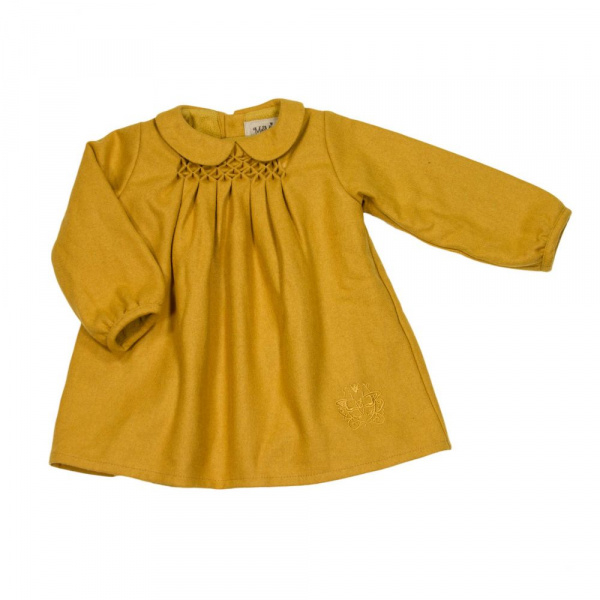Mary dress i honey gold fra MeMini