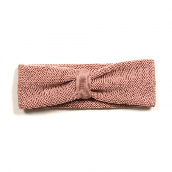 Headband i dusty rose fra Huttelihut