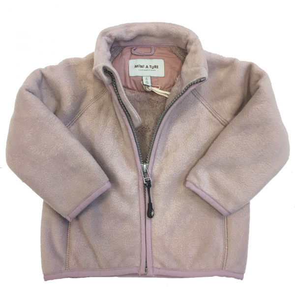 Cedric fleece jakke violet ice fra Mini A Ture