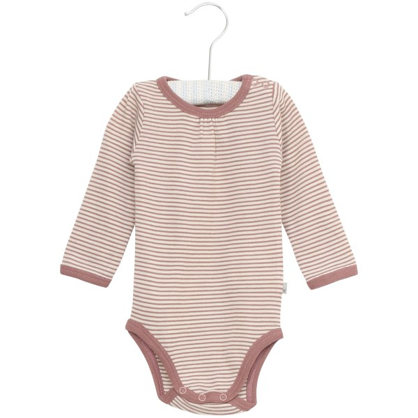 Wool body nostalgicrose med striper fra Wheat