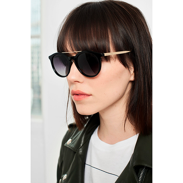 Anine Bing Berlin Sunglasses Black