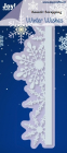 JOY CRAFTS - 6002-2021 - NOOR DESIGN - EDGE WITH ICE CRYSTAL