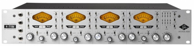 Bilde av Universal Audio 4-710D Twin-Finity