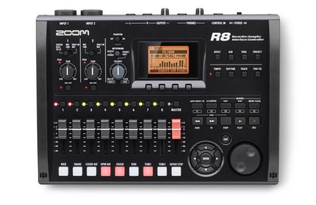 Bilde av Zoom R8 recorder, interface, controller, sampler
