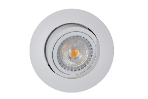 Bilde av Juno safe+ warmdim 6w ip23 mh matt hvit led downlight ra95 downl