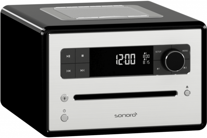 Bilde av Sonoro CD2, DAB+ radio med bluetooth - SORT