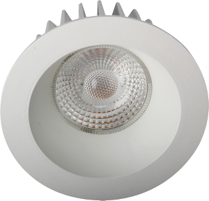 Bilde av Juno soft cob+ 10w/827 matt hvit ip44 650lm @s downlight
