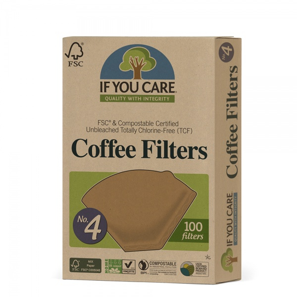 Bilde av If You Care Kaffefilter nr 4