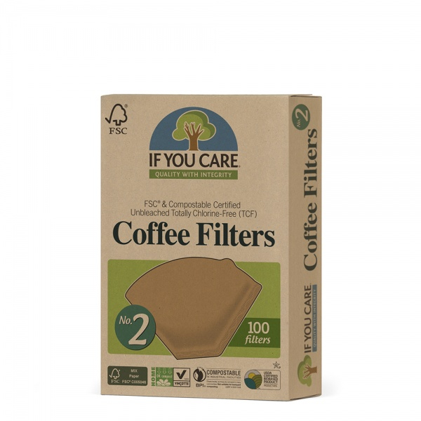 Bilde av If You Care Kaffefilter nr 2