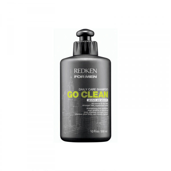 Bilde av Redken For Men Daily Care Shampoo Go Clean 300ml