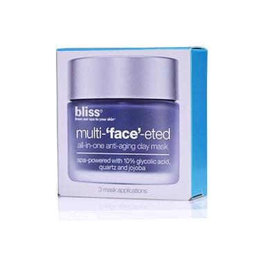 Bilde av Bliss Multi - 'FACE' - ETED Clay Mask Beauty-To-Go 3x4g