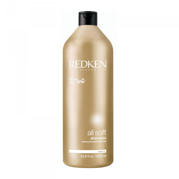 Bilde av Redken All Soft Shampoo 1000ml