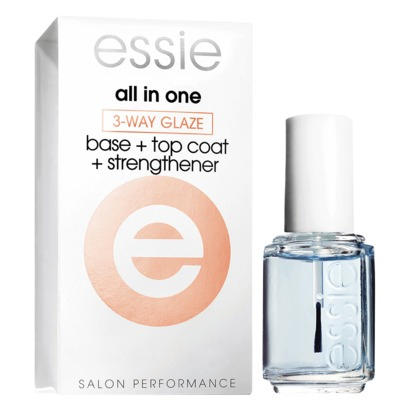 Bilde av Essie 3-Way Glaze Base+Top Coat+Strengthener 15ml