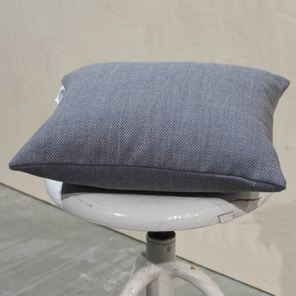 Image of Fjord dusty blue 40*40 cushion