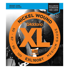 Bilde av D´Addario EXL160BT Balanced Tension El. Bass