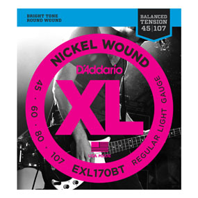 Bilde av D´Addario EXL170BT Balanced Tension El. Bass