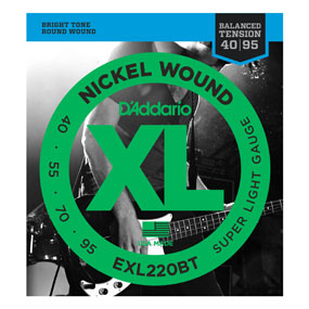 Bilde av D´Addario EXL220BT Balanced Tension El. Bass