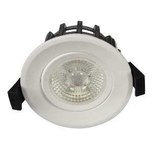 Bilde av Juno gyrocob+ 10w warmdim mh matt hvit downlight