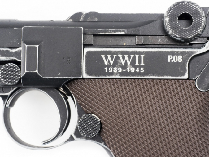 Legends P08 End of WWII Edition Blowback - 4.5mm BB