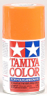 Tamiya 86007 PS-7 Polycarbonate Spray Orange 3 oz
