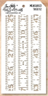 TIM HOLTZ - LAYERED STENCIL THS012 - MEASURED