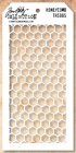 TIM HOLTZ - LAYERED STENCIL THS005 - HONEYCOMB
