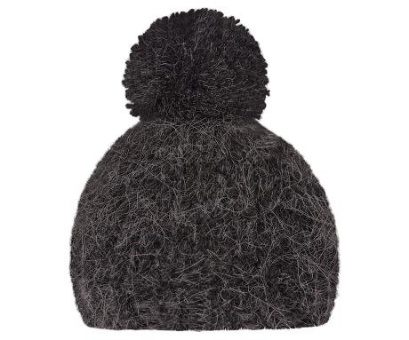 Best Friends knitted hat 1 pompom Antracite fra Maileg