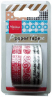Marianne Design - Paper Tape - Christmas Red
